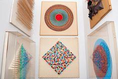Paper sculptures by Irving Harper