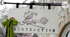 Distraction | REstyleSOURCE | signage