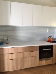 IKEA Ekestad and Metod Kitchen with Artedomus INAX Yuki Border