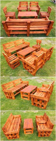 This is a complete project that occupies our vision with its attractive and decent look. This wood pallet bench with table project offers us everything for our outdoor meetings and for breathing fresh air with our friends and family. It offers enough space to accommodate a dozen of people.