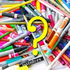 How Do I Start Coloring? Part 1: A list of supplies to begin your coloring journey!