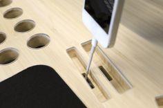 La mesa de trabajo que todo geek desearía tener