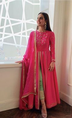 Best 12 Shop all new designer indian clothing such as lehengas, anarkalis, gowns. - Clothing Style of Culture - Mode Pakistani Dress Design, Pakistani Outfits, Indian Outfits, Indian Wedding Outfits, Wedding Dress, Shadi Dresses, Indian Gowns Dresses, Party Wear Indian Dresses, Red Lehenga