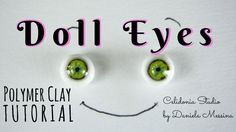Lifelike ooak Doll Eyes and other scales – Polymer Clay Tutorial - Mandeep Madden Dolls Polymer Clay Fairy, Polymer Clay Dolls, Polymer Clay Projects, Clay Crafts, Wings Tutorial, Doll Tutorial, Biscuit, Clay Fairies, Clay Baby