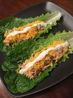Buffalo Chicken Lettuce Wraps — Ashley Molitor
