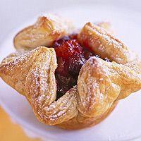 Cranberry-Apricot Puffs
