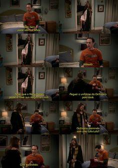 #Gryffindor dormindo com #Hufflepuff, que escândalo ! Haushsushsusu seria escândalo mesmo se fosse #Gryffindor com #Slytherin ... #HarryPotter #TBBT