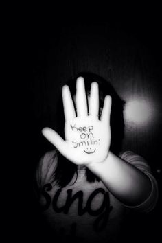 Keep on smileing
