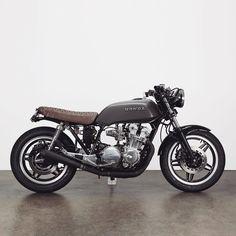 Honda CB750f #caferacer discover #motomood