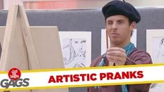 Best Artistic Pranks - Best of Just For Laughs Gags ⋆ Many Funny Videos Best Funny Jokes, Funny Jokes For Adults, Funny Jokes To Tell, Funny Memes, Fun Jokes, Funny Videos, Funny Couples Memes, Funny Girl Quotes, Funny Quotes About Life