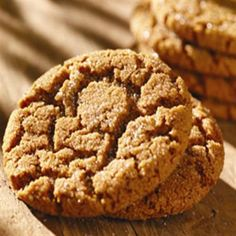 Classic Molasses Cookies