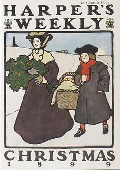 Harper's Weekly, Christmas 1899.  [via Art Institute]