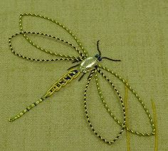 Image result for embroidery dragonfly