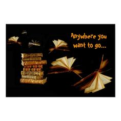 Anywhere you want to go! posters
