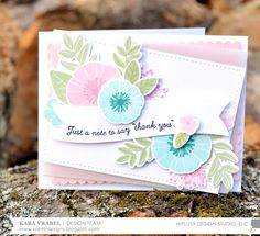 Stamp Away With Me: December 2016 Release Week: Feathers & Florals and Bold Banner Greetings with Kara
