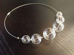 Collana di perle in vetro soffiato di BeeShopItalia su Etsy