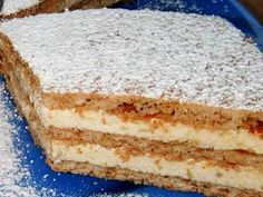 Olcsó fehér krémes hókocka - www.kiskegyed.hu Hungarian Desserts, Hungarian Cake, Hungarian Recipes, Cookie Recipes, Dessert Recipes, Delicious Desserts, Yummy Food, Sweet Cookies, Sweet And Salty