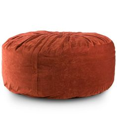 Take Ten Lounger Bean Bag Chair - Burnt Orange