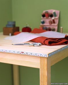 How to diy a table in order to drop a sewing machine into it so it any table or countertop used for crafts or sewing projects will be improved by the addition watchthetrailerfo