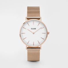 Cluse Watch - La Bohème - Rose Gold / White