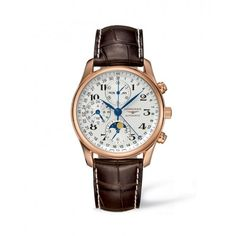 The Longines Master Collection 40mm Gold 18K Chronograph with Moon Phase