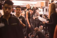 Backstage Pass: Milan Fashion Week Fall 2014 - Ferragamo Fall 2014