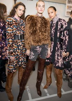 Isabel Marant - backstage Paris Fashion Week Fall 2017