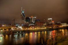 Nashville skyline at night   Don Wright Designs | Nashville Multimedia - Photography, Web Design, Digital Content Creation