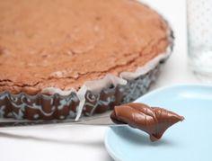 Super Soft Nutella Brownies ganz einfach nachzukochen. Das Rezept gibt es hier: http://www.ichkoche.at/super-soft-nutella-brownies-rezept-12936