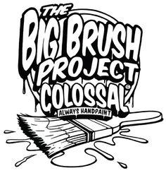Colossal Media: Big Brush Project Logo |