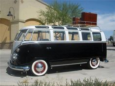VW Bus - an absolute cult classic