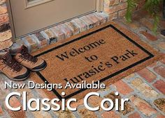 Personalized Doormats Company | Home and Business Personalized or Custom Doormats