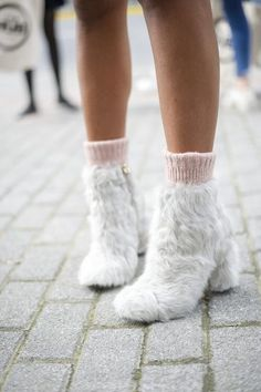 They Are Wearing: Shanghai Fashion Week Fall 2016 Shanghai Fashion Week street style.<br> Visit the post for more. Sock Shoes, Cute Shoes, Me Too Shoes, Shoe Boots, Outfit Essentials, Fashion News, Fashion Shoes, Fashion Trends, All About Fashion