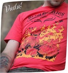 Camiseta Diablos Rojos