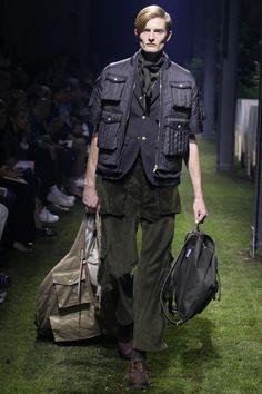 Moncler Gamme Bleu Spring 2017 Menswear Fashion Show