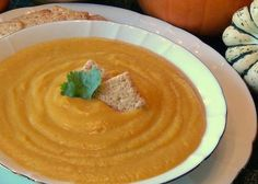 Vegan Butternut Squash Soup This easy and delicious three ingredient soup will have you licking the pot clean!