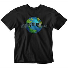 Our Running On Natural 'Worldwide' Vegan T-Shirt, available in both Ladies And Men's styles T Shirt Company, Vegan Clothing, Vegans, Cool T Shirts, Shirt Designs, Mens Fashion, Running, Nice, Natural