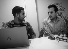 Con @sergio.barcelo de @goocenter y @borjachenoll de El Catalizador.  Economía colaborativa... #coworking #startup #office #entrepreneur #business #work #community #design #networking #collaboration #coworkers #entrepreneurs #officespace #creative #event #inspiration #freelance #empreendedorismo #cowork #space #startups #workspace #coworker #entrepreneurship #hub #coffee #workshop #events #valencia #fallas