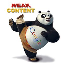 Weak contents are kicked out during Google's Panda update..so get professional #ContentWriting services by us.