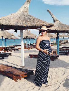 Envie de fraise ♡ Eat Wear Travel // FREYA - Robe grossesse #MaternityStyle #Maternity #Fashion #BumpStyle #Mumtobe #BabyBump