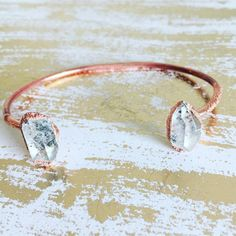 Herkimer+diamond+cuff