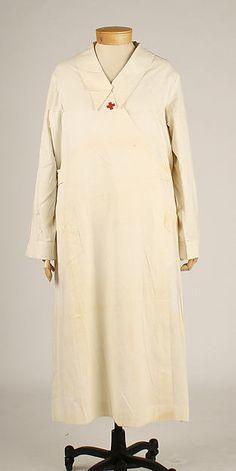 Uniform Date: ca. 1918 Culture: American Medium: cotton Dimensions: Length at CB (a): 49 1/2 in. (125.7 cm) Overall (b): 27 x 20 1/2 in. (68.6 x 52.1 cm)