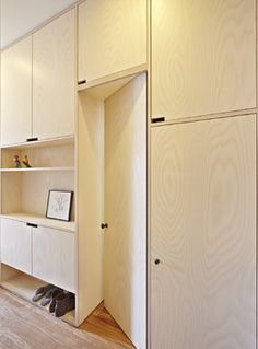 Sunset Park Townhouse, Brooklyn - eclectic - Closet - New York - Jordan Parnass Digital Architecture