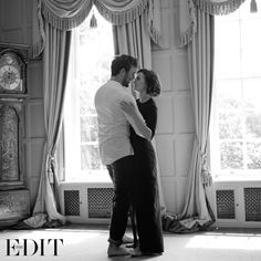 Sam Claflin and Lily Collins for Net-a-Porter (2014)