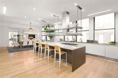 Tour Jennifer Lopez's Extravagant $27 Million Manhattan Penthouse - The breakfast nook from InStyle.com