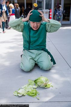 Cabbage Merchant #cosplay from Avatar | FamineCon 2013