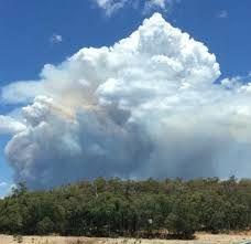 Smoke resembling an atomic bomb. (Environmental)