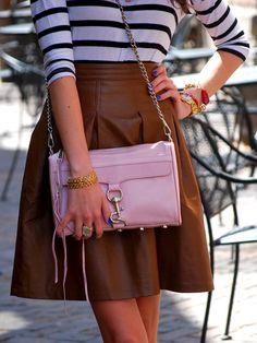 Rebecca Minkoff MAC bag in petal pink Rebecca Minkoff Mac, Passion, Women's Fashion, Street Style, Backpacks, Style Inspiration, Handbags, Purses, My Style