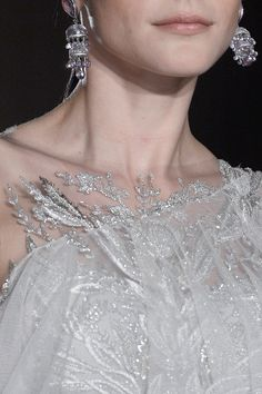 Marchesa Spring 2013 RTW - Details - Collections #earrings #jhumkas #semiprecious