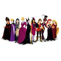 Disney princess villains... this is awesome.